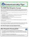 Homeownership Tips Newsletter - Fall 2012